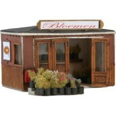 10206 Flower Sellers Booth (OO/HO Scale 1/87th)