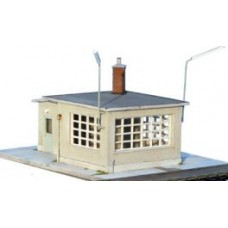 14127 Weighbridge + weighhouse  (N Scale 1/160th)