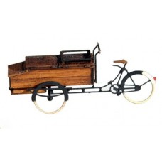 31606 Painted Delivery Bicycle and Full Box  (N Scale 1/160th)