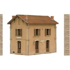 10227 Station Building 'Mauzens-Miremont' (OO/HO Scale 1/87th)