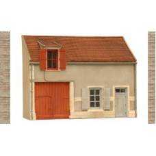 10232 Facade N German Style Frontage (OO/HO Scale 1/87th)