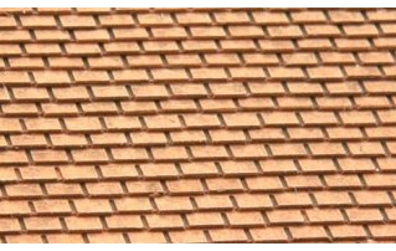 10241 Slate Roof Tiles (OO/HO Scale 1/87th)