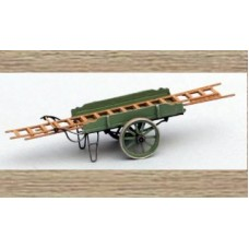 31616 Painted Hand Trolley with Ladders  (N Scale 1/160th)