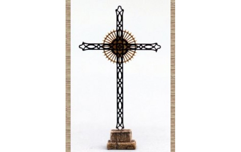 10257 Large Church Cross (OO/HO Scale 1/87th)