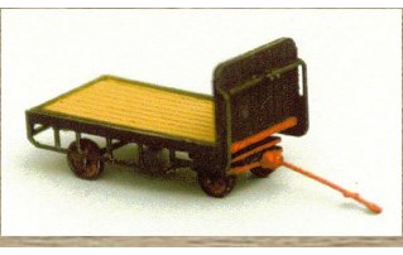 38732 Painted Hand Luggage Trolley  (OO/HO Scale 1/87th)