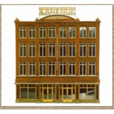 14160 Lrg Department Store Facade   (N Scale 1/160th)