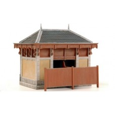 10266 Outside Ornate Toilets (OO/HO Scale 1/87th)
