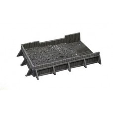 10299 Large Square Coal/aggregate bunker