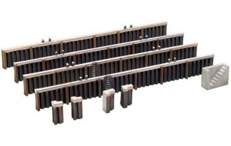 14102 Quayside Walling - Steel  (N Scale 1/160th)
