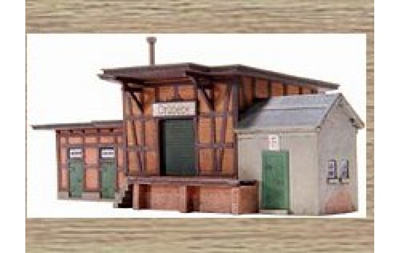 14111 Goods Building  (N Scale 1/160th)