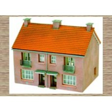 14116 2 Terraced houses  (N Scale 1/160th)