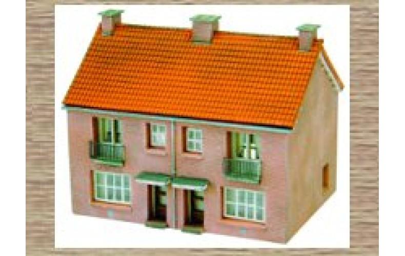 14116 2 Terraced houses  (N Scale 1/160th)