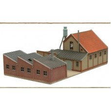 14144 Workshop buildings and workshop units  (N Scale 1/160th)