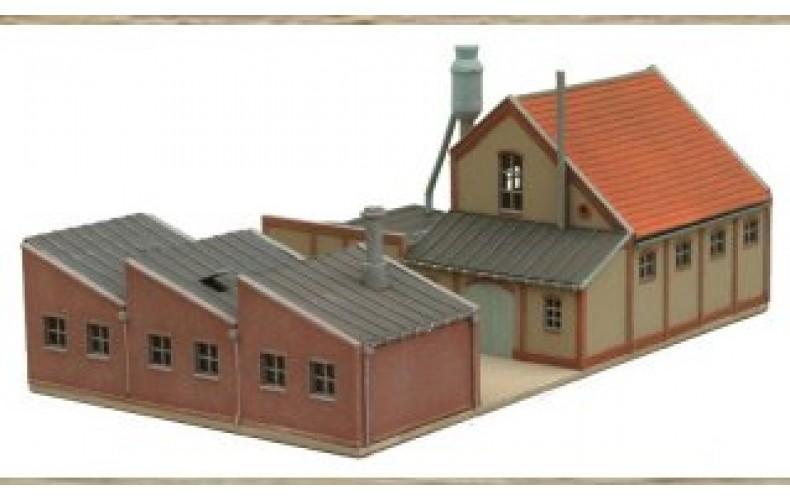 14144 Workshop buildings and workshop units  (N Scale 1/160th)