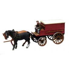 10277 Horse Drawn Covered Wagon (OO/HO Scale 1/87th)