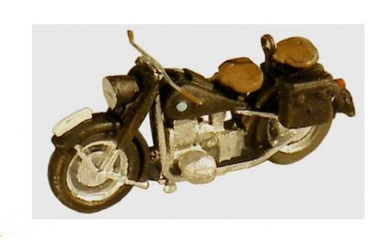 38767 Painted BMW Motorcycle R75 (OO/HO Scale 1/87th)