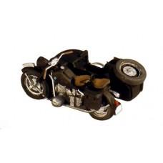 10280 BMW Motorcycle & Sidecar R75 (HO Scale 1/87th)