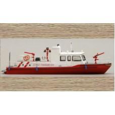 50126 Fire Tender Boat (OO/HO Scale 1/87th)