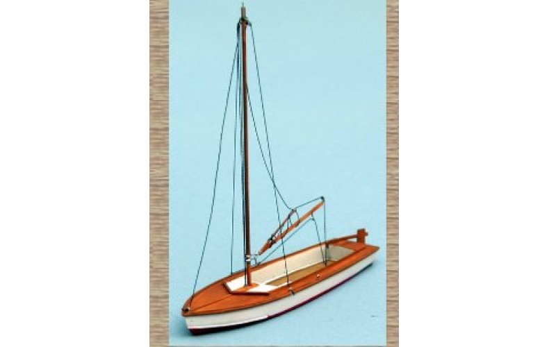 50129 Small Sailing Boat/Dingy (OO/HO Scale 1/87th)
