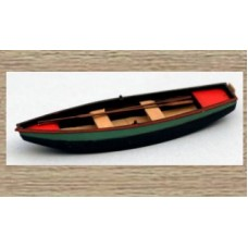38709 Painted rowing boat large (OO/HO Scale 1/87th)