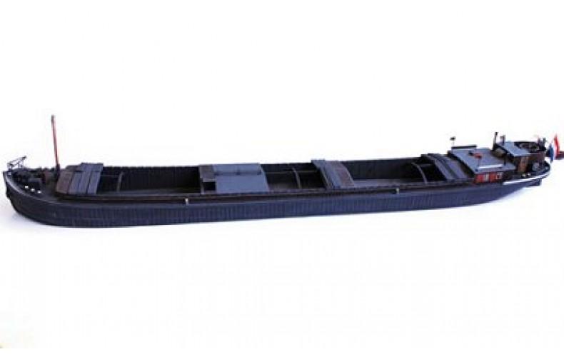 50133 Large Coal/Aggregate Merchant Barge  (OO/HO scale 1/87th)