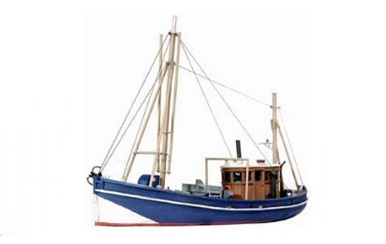54108 Small Coastal Fishing Trawler  (N Scale 1/160th)