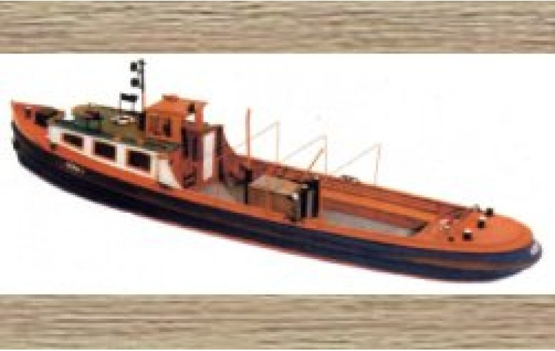 50106 52ft Harbour / River launch (OO/HO Scale 1/87th)