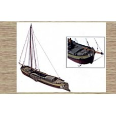 50101 Traditional Sailing Boat (OO/HO Scale 1/87th)