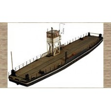 50121 Large Road/Rail Transport Ferry (OO/HO Scale 1/87th)