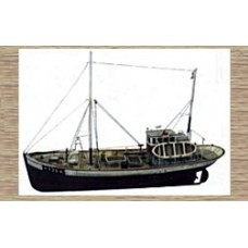 50107v Large Fishing Trawler - Full Hull Version (OO/HO Scale 1/87th)