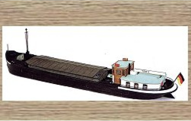 50104 76ft River Freight Vessel (OO/HO Scale 1/87th)