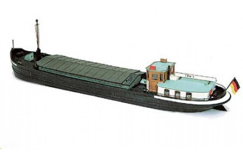54104 River Cargo Barge  (N Scale 1/160th)