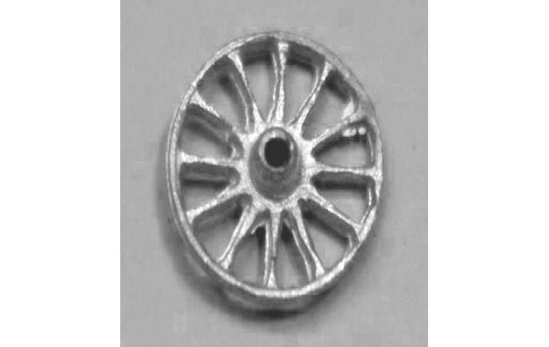 10mm Spoked Wheel Pair (F25)