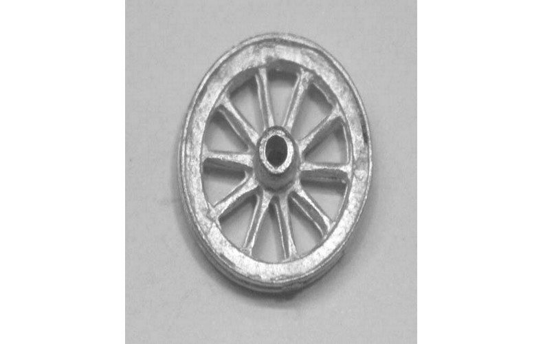 15mm heavyweight cart wheel pair(g26 front)