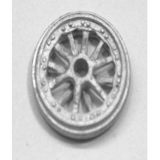 16mm riveted traction engine wheel pair(q38fr)