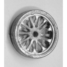 28mm traction engine wheel pair(q37rubber r)