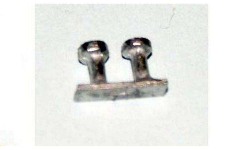 Small double bollard (nmb11)