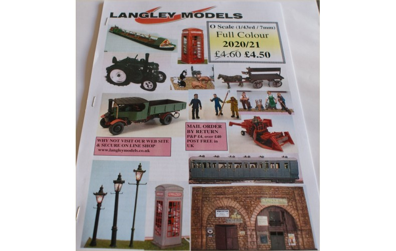 Cat8 O Scale Catalogue - Full Colour (1/43rd)