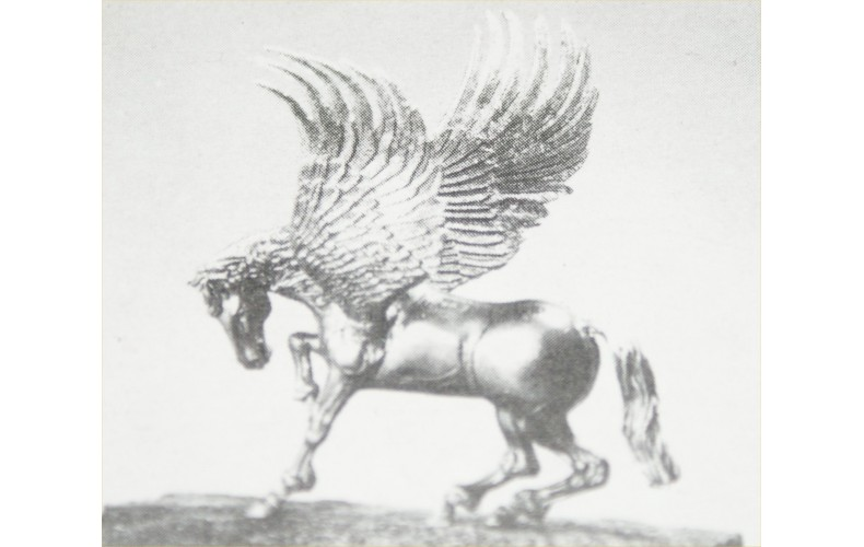 LM3 Pegasus (Winged Horse) (75mm scale)