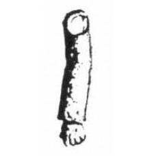 XA19 Plain Arm Left (54mm Scale)
