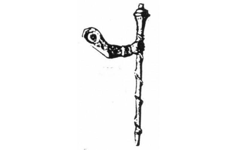 xa22 Band Major Mace & arm Scottish Cuff (54mm Scale)