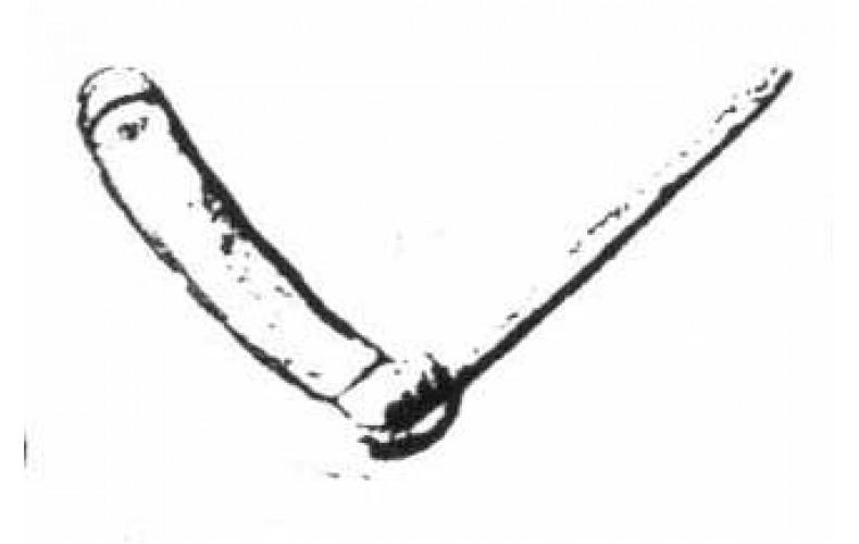 xa34 Officer Sword Right open (54mm Scale)