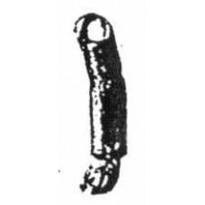 xa54 Plain Arm Left open hand (stretcher) (54mm Scale)