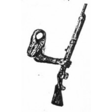 xa72 Zulu arm right rifle (54mm Scale)
